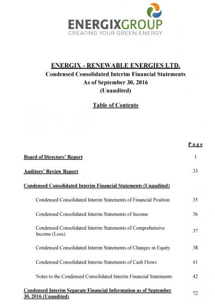 FINANCIAL REPORT 2016 - English